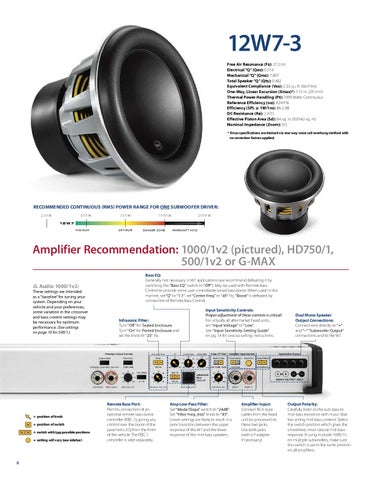 jl audio 12w7 manual by talk audio online issuu rh issuu com jl audio 500/1 manual jl audio 500 1 service manual