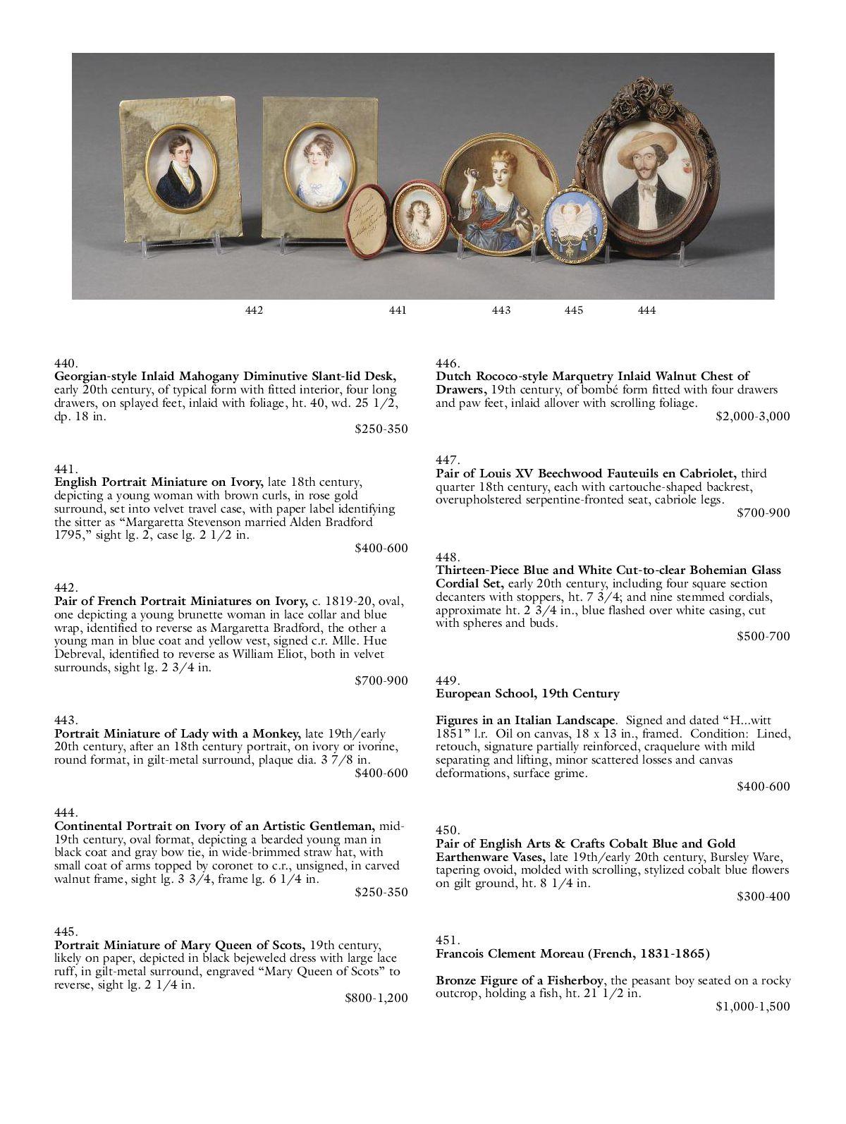 European Furniture & Decorative Arts | Skinner Auction 2465