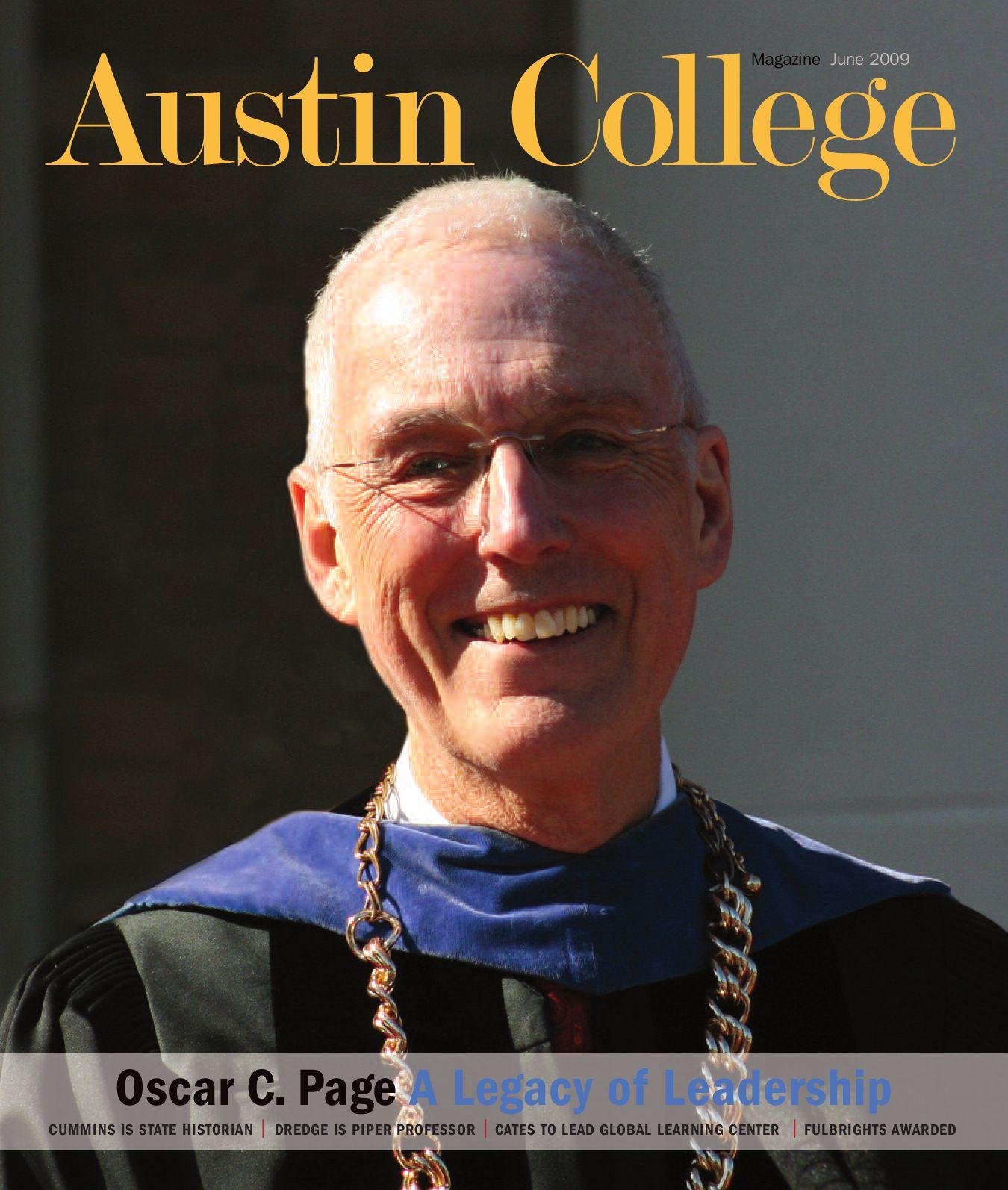 Austin college magazine june 2009 by austin college issuu publicscrutiny Gallery