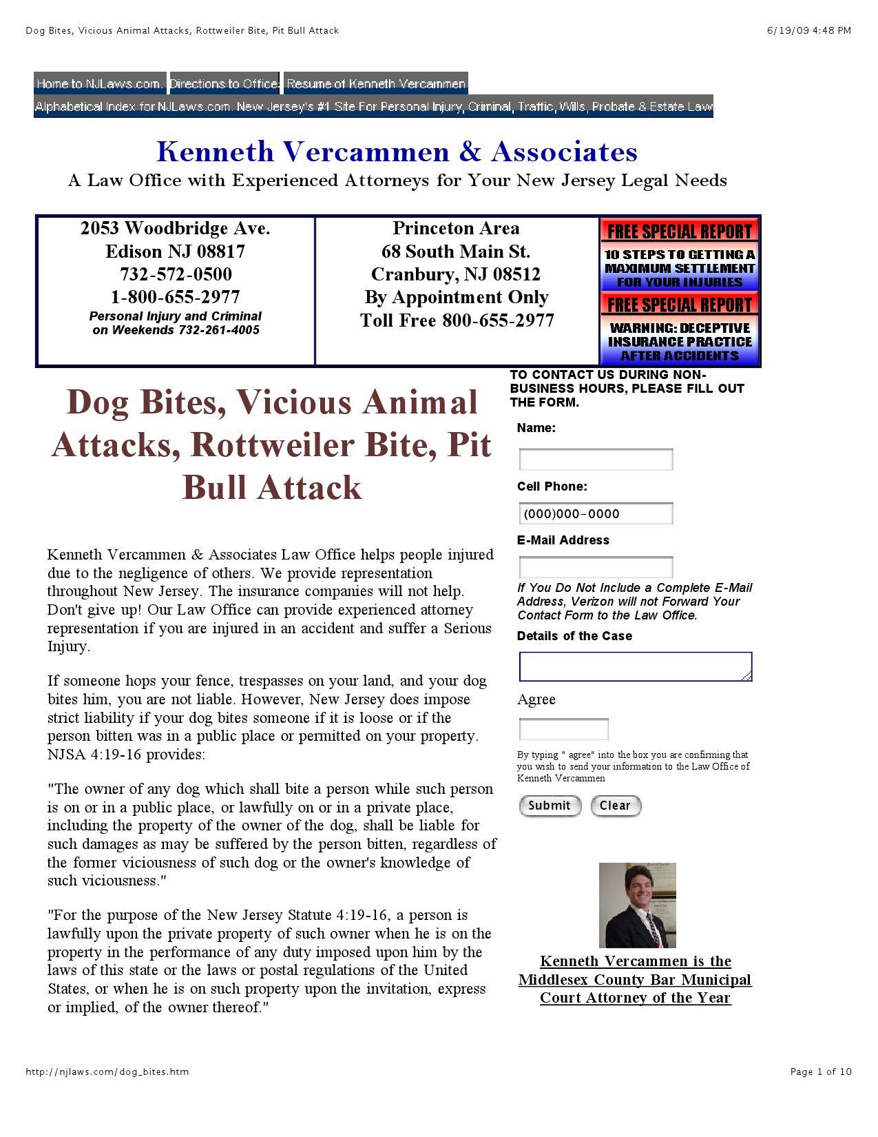 Dog Bites Vicious Animal Attacks Rottweiler Bite Pit