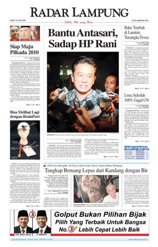 RADAR LAMPUNG | Sabtu, 20 Juni 2009
