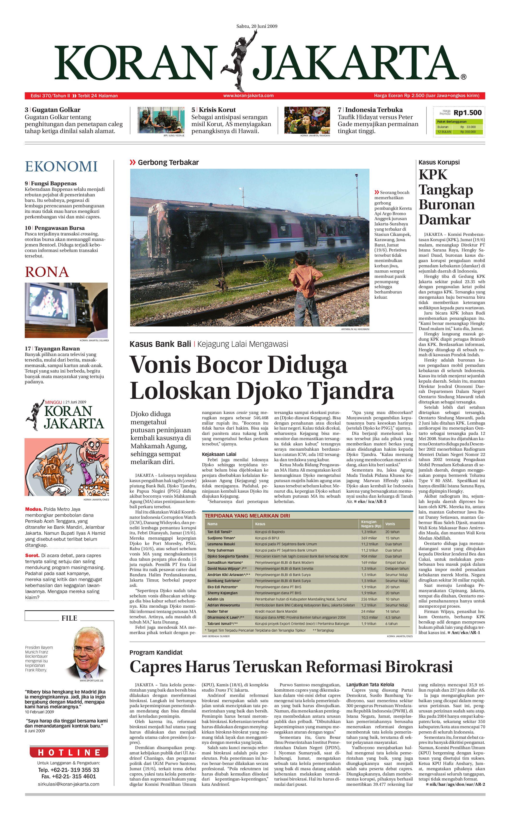 Edisi 370 By PT Berita Nusantara Issuu