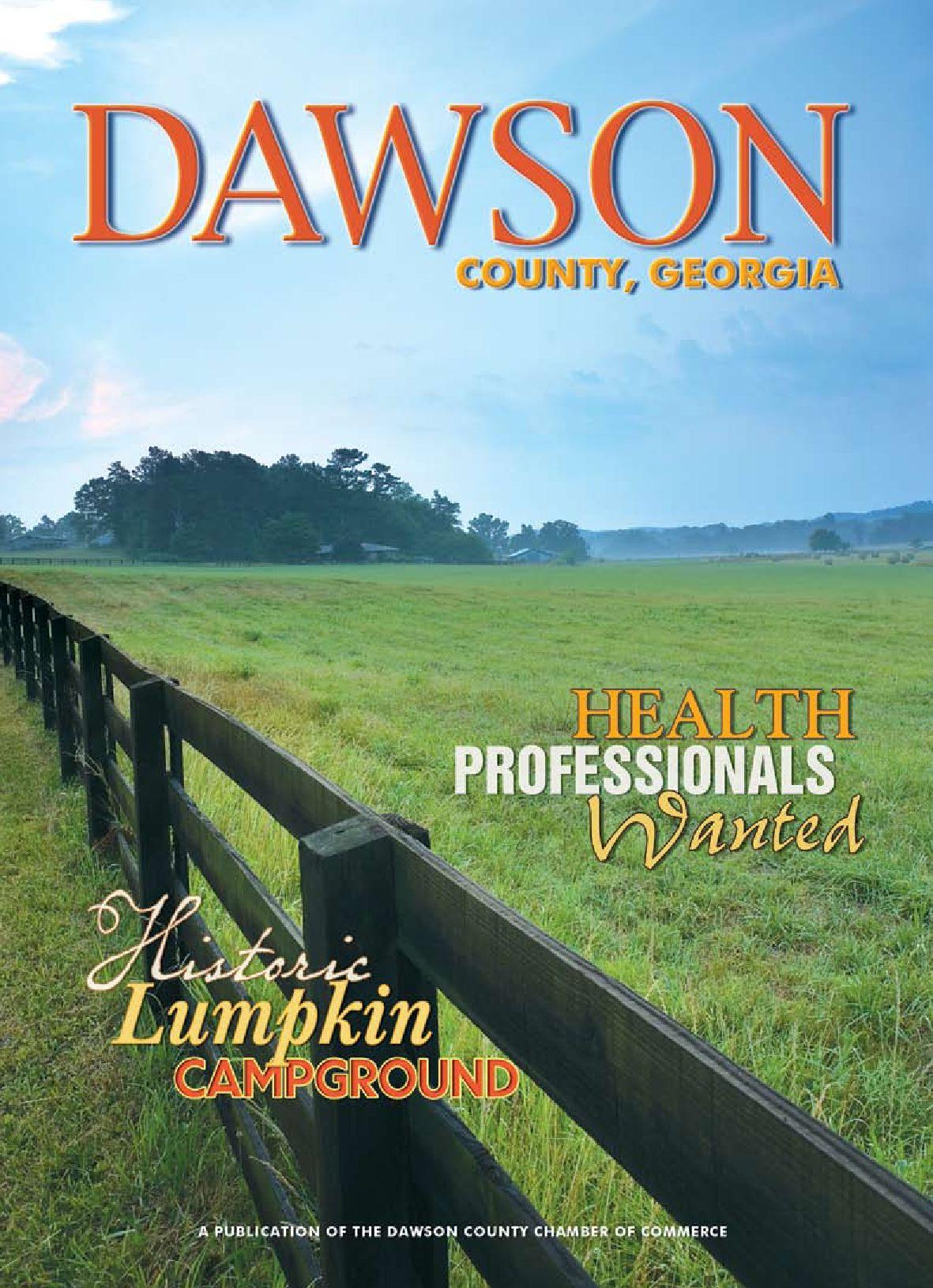 Dawson County Georgia by Dawson County Chamber of merce and CVB