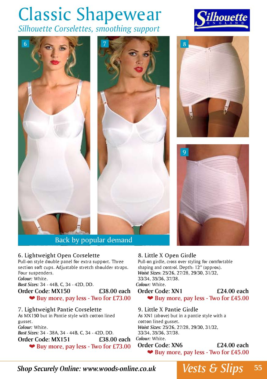 SUSPENDERS,WHITE OR BLACK SILHOUETTE MX150 LIGHTWEIGHT SOFT CUP OPEN CORSELETTE