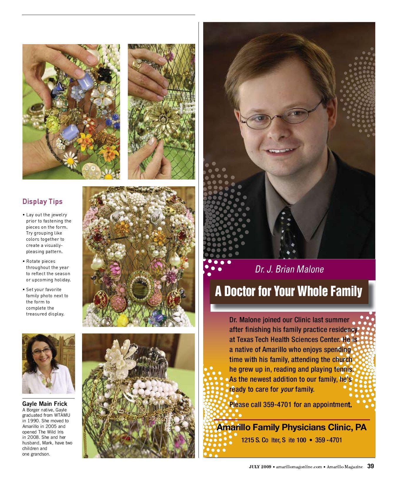 Amarillo Magazine | July 2009