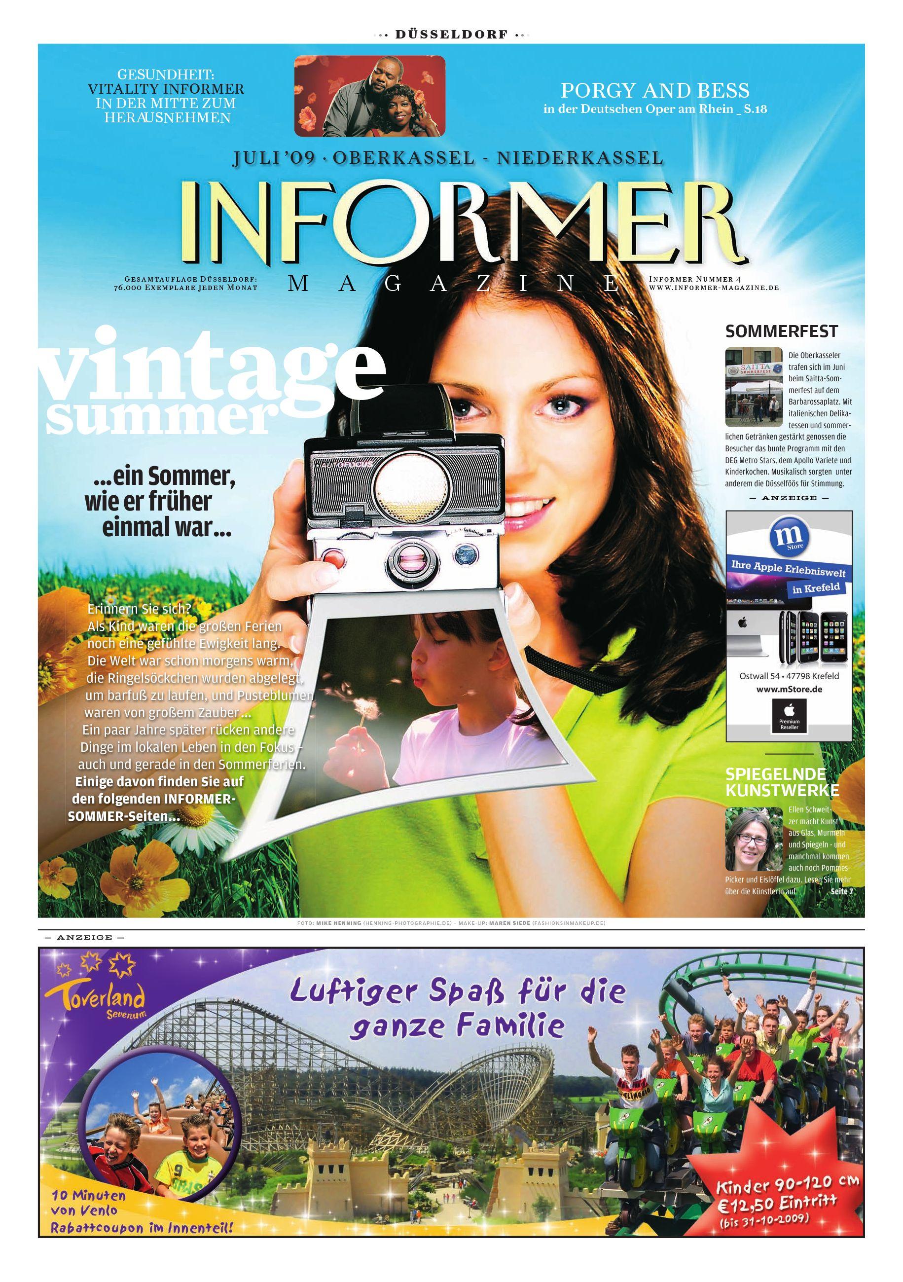 INFORMER MAGAZINE Duesseldorf by INFORMER MAGAZINE Düsseldorf - issuu