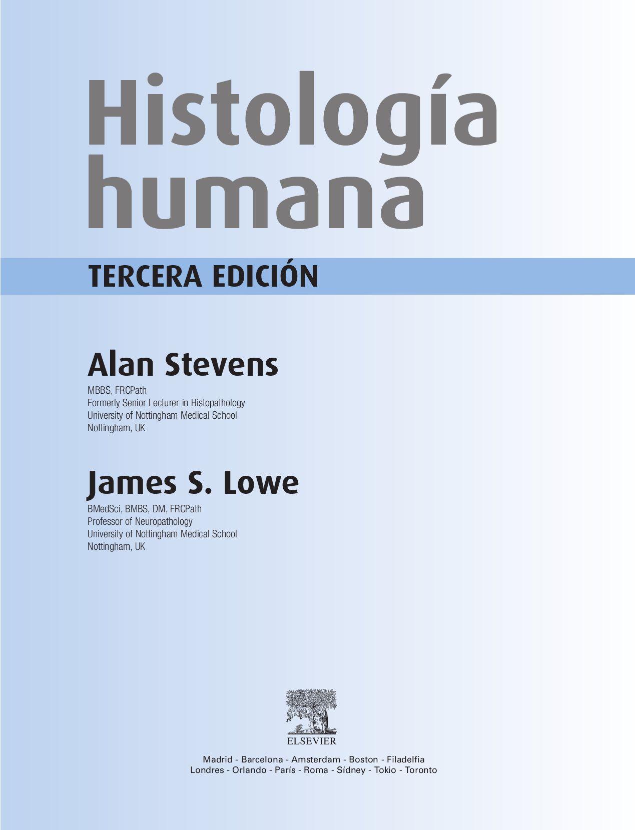 Histología Humana + Student Consult by Grupo Asís, S.L. - issuu