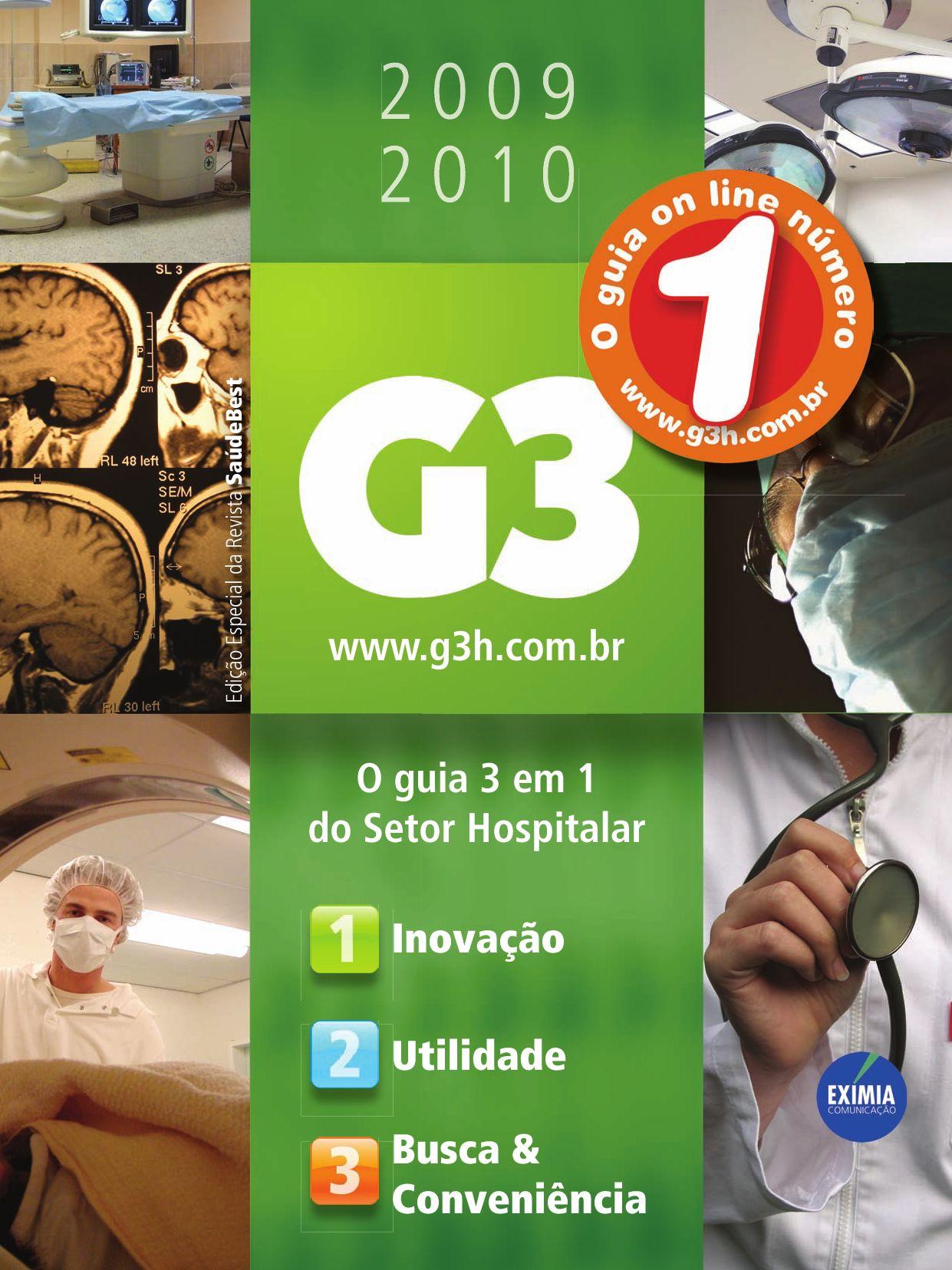 Anuario G3 Hospitalar By Victor Skrabe Issuu
