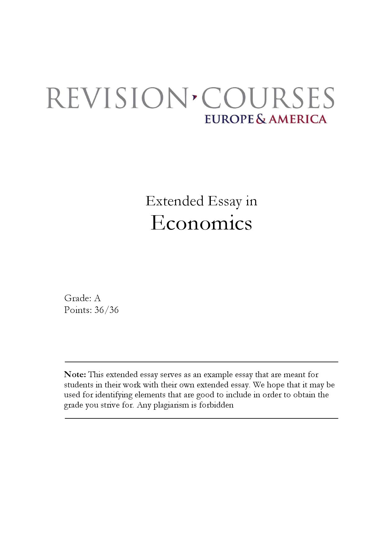 extended essay in economics by revision courses europe america  extended essay in economics by revision courses europe america issuu