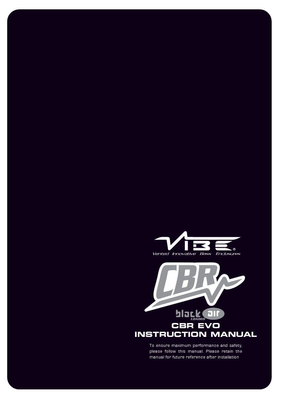 we vibe 4 instruction manual
