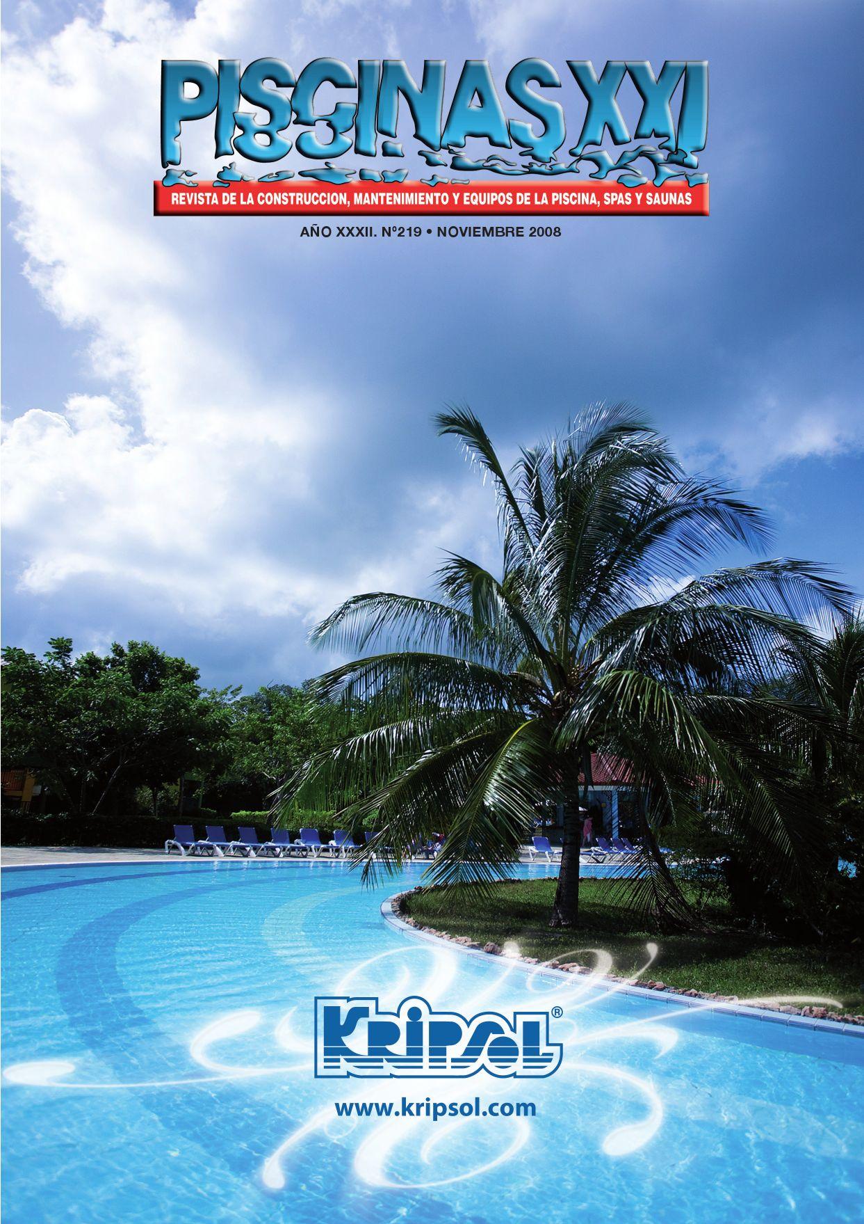 Piscinas xxi n 219 by rbi issuu for Construccion de piscinas en galicia