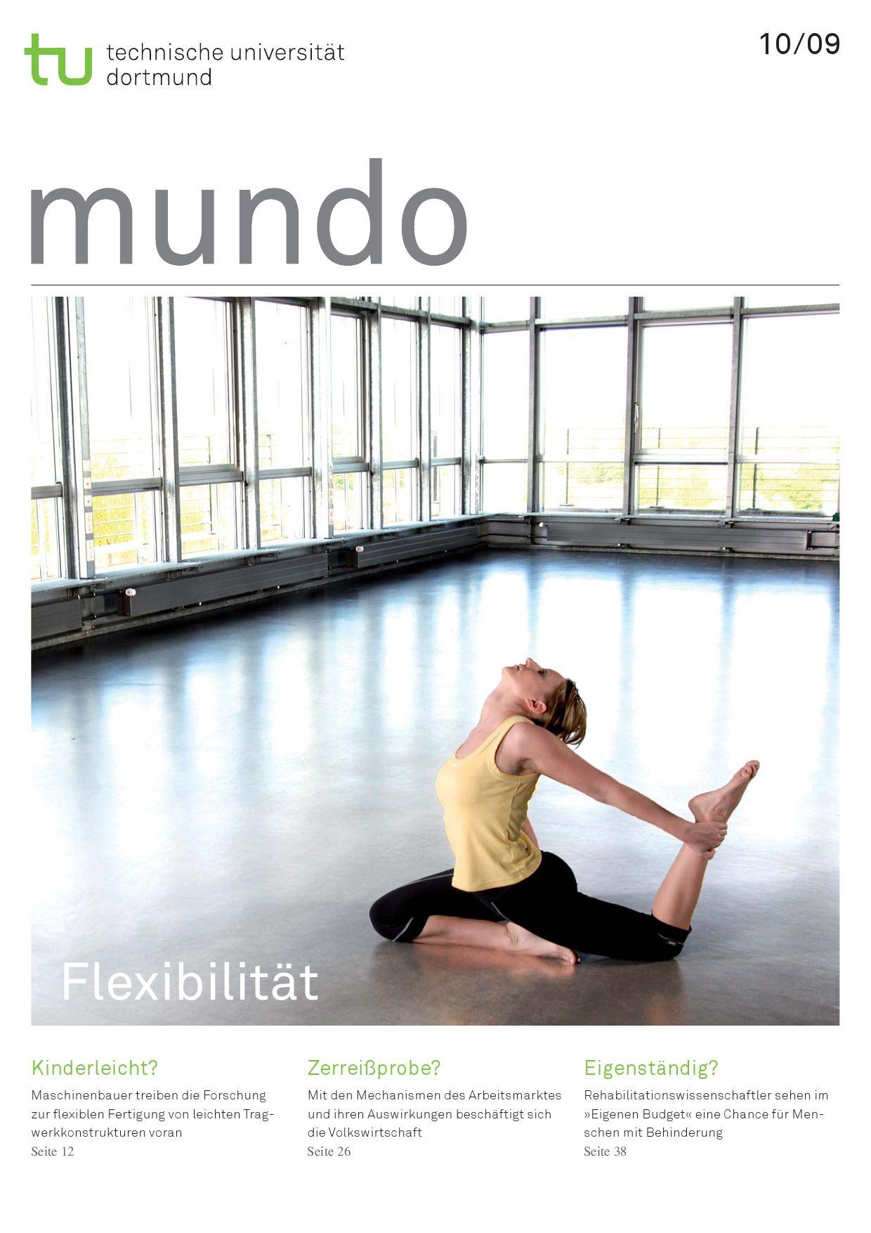 mundo 10/09 by TUDortmund - issuu