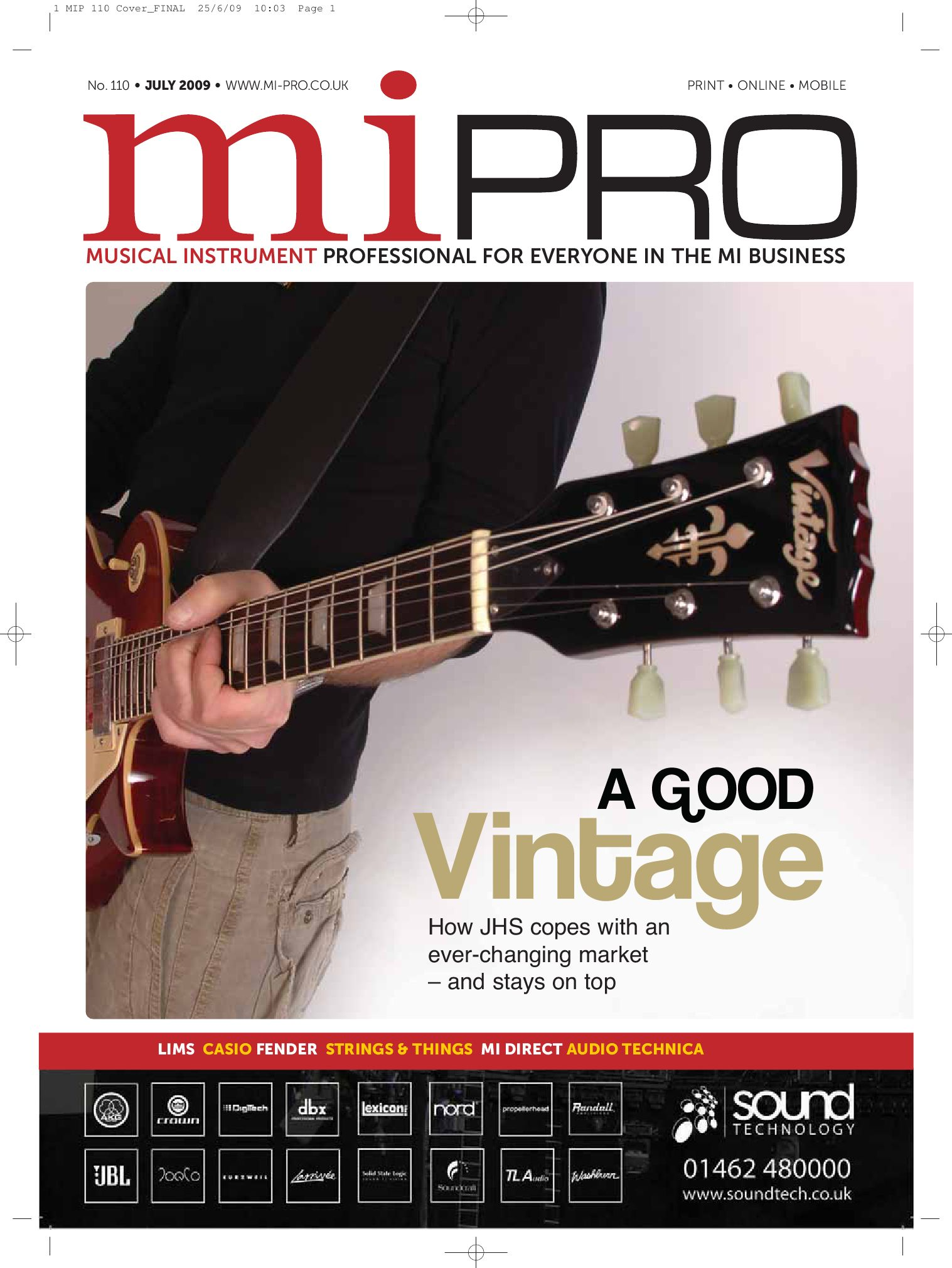 Mi Pro July 2009 Issue 110 By Intent Media Now Newbay The Technology Of Autowahs Envelopecontrolled Filters Europe Issuu