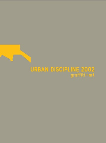 Urban Discipline 2002 By Getting Up   Issuu