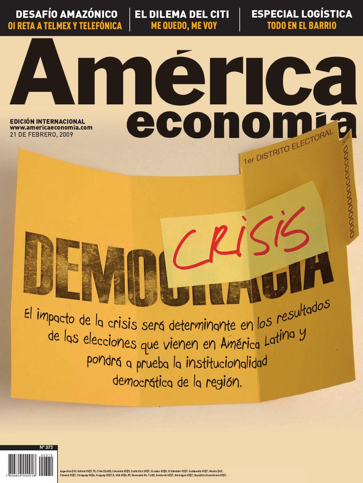 Nº 372 Edición Internacional by AméricaEconomía - issuu f64ebf17b2a95