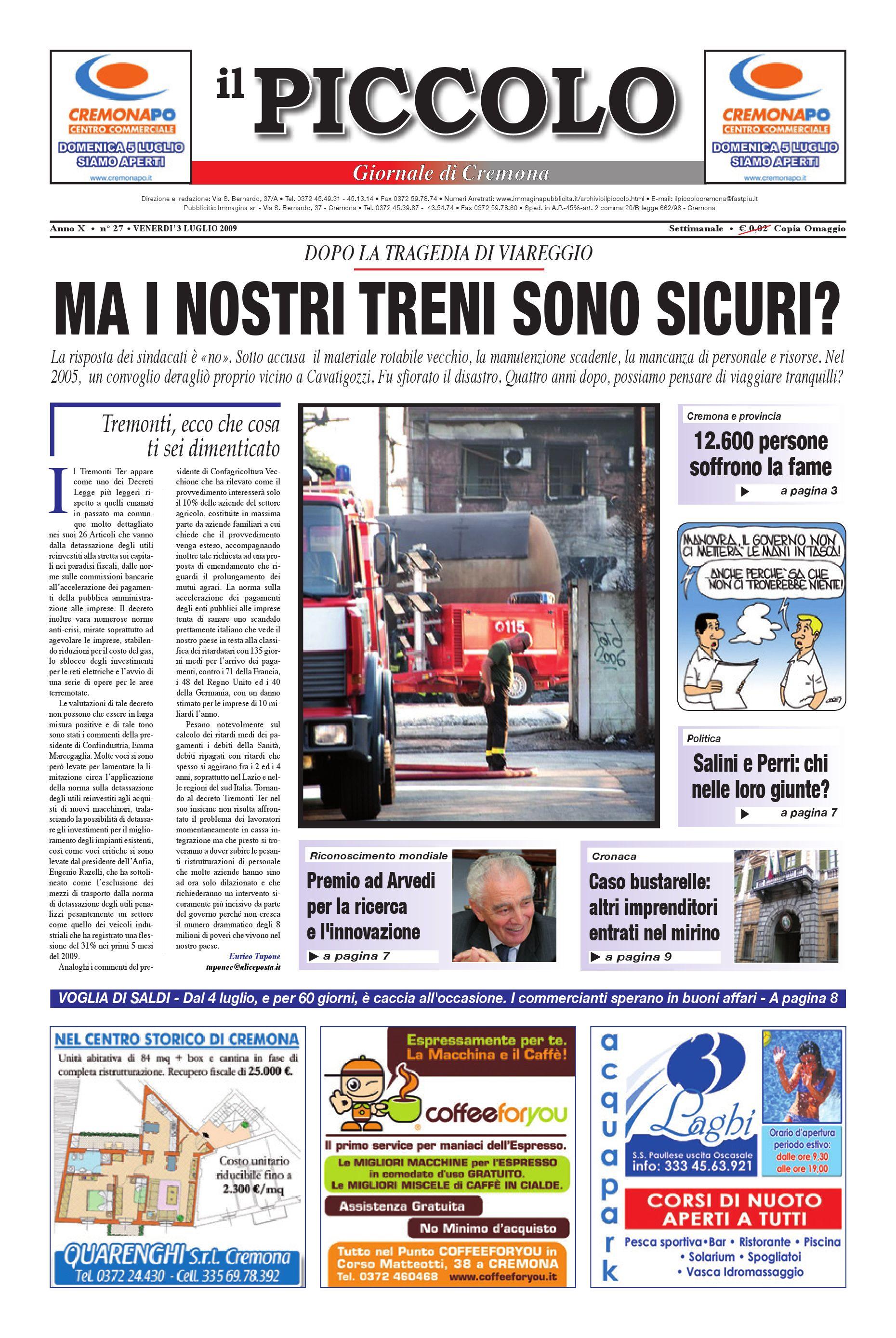 Il Piccolo Cremona by promedia promedia issuu