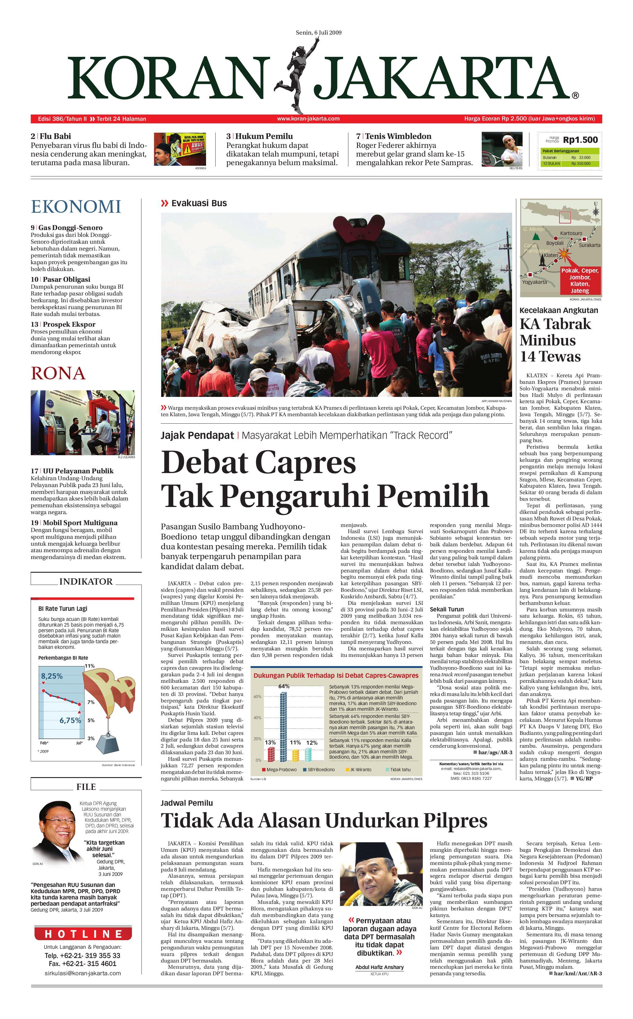 Edisi 386 06 Juli 2009 By Pt Berita Nusantara Issuu Produk Ukm Bumn Bale Sehat Teh Rosella Merah 3 Box