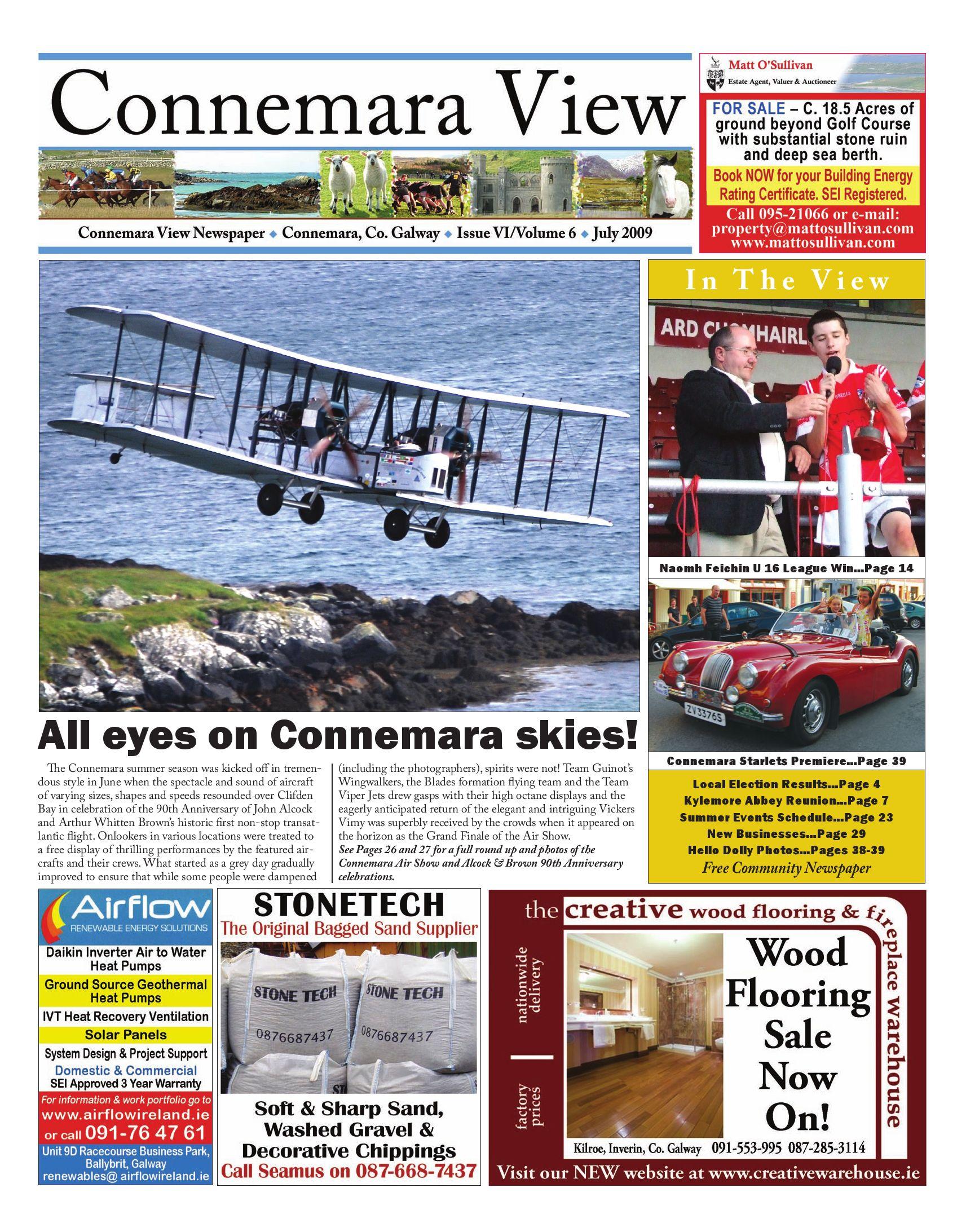 8d9326212 July 2009 Connemara View by Connemara View Publishing - issuu
