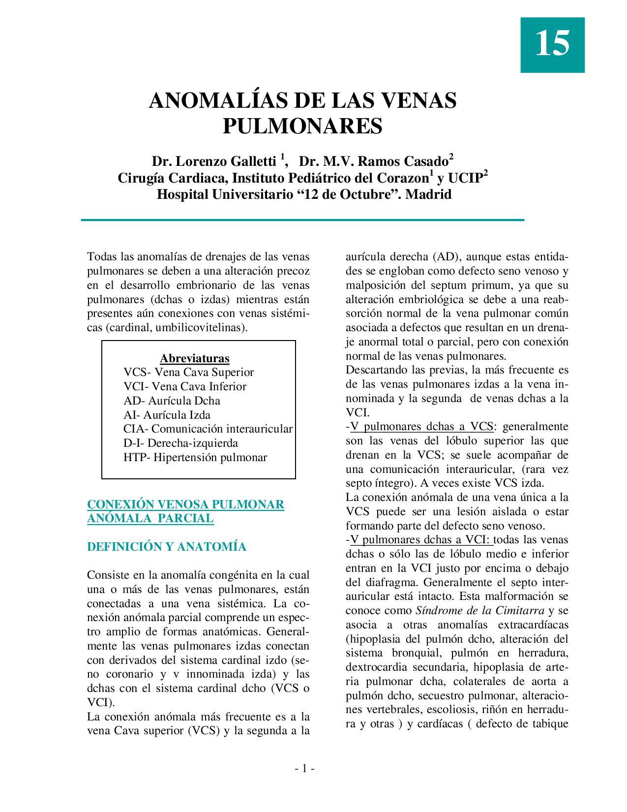 Cardiología Pediátrica - Protocolos de la Sociedad Española by ...
