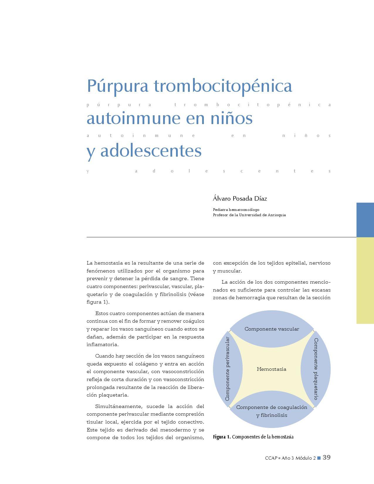 se cura la purpura trombocitopenica idiopatica
