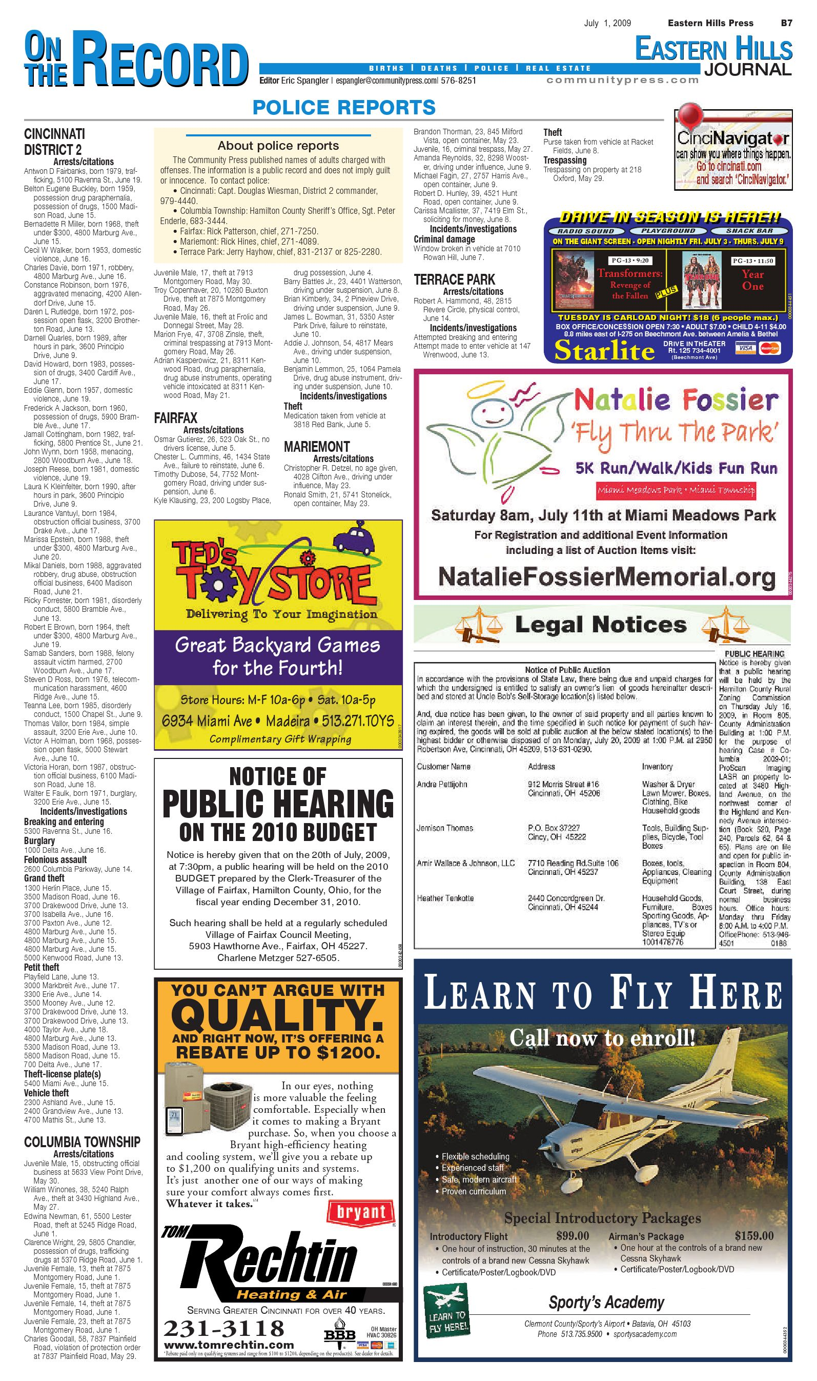 Eastern Hills Journal July 1 2009 By Enquirer Media Issuu