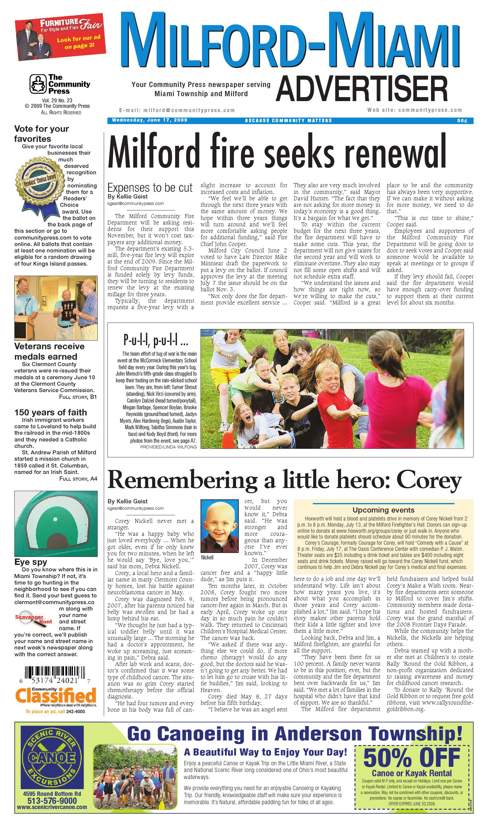 Milford Miami Advertiser   June 15, 15 by Enquirer Media   issuu