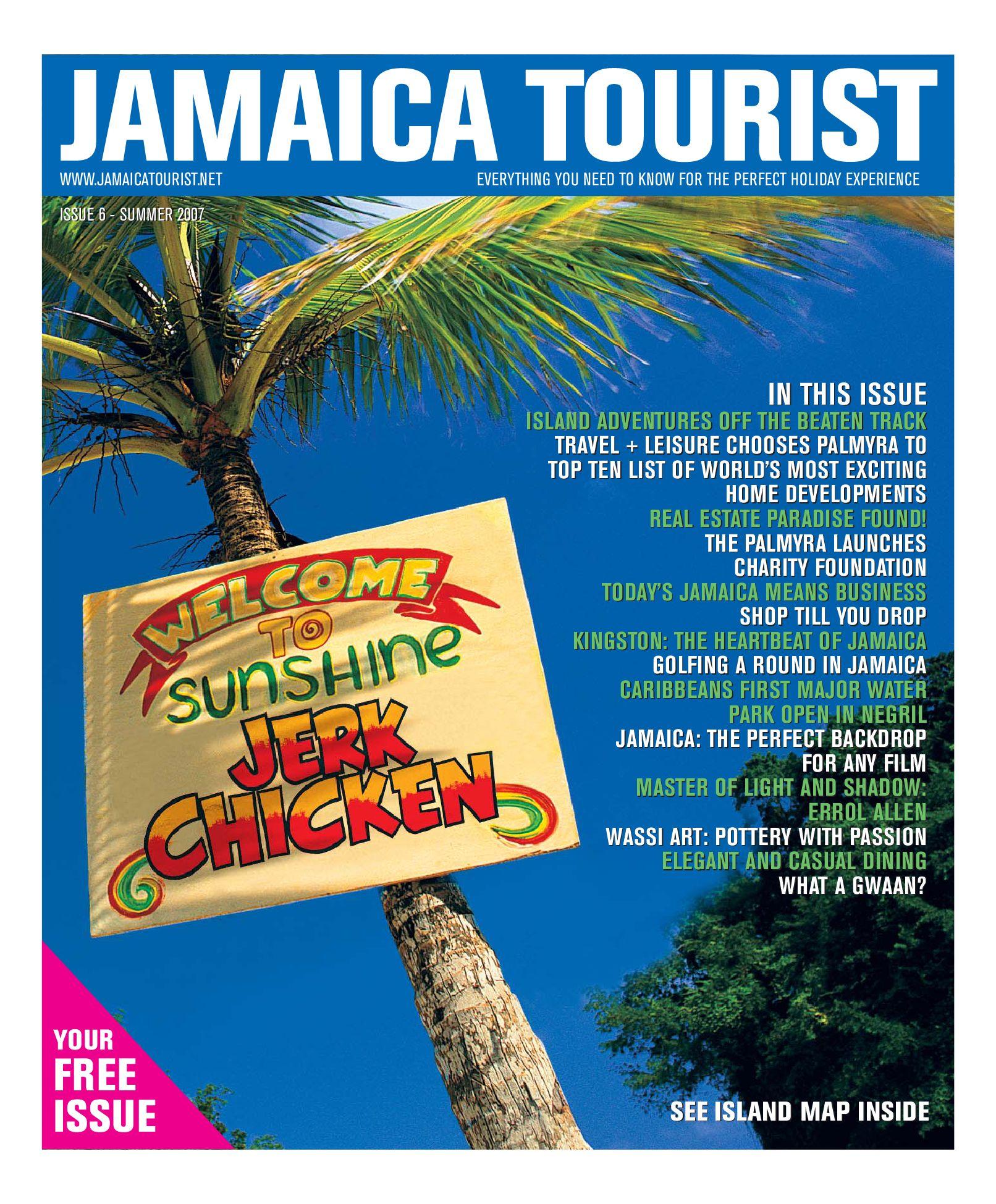 Jamaica Tourist Issue 6 By Jamaica Tourist