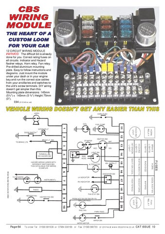 Astounding Car Builders Solutions 12 Circuit Wiring Module Basic Electronics Wiring 101 Capemaxxcnl