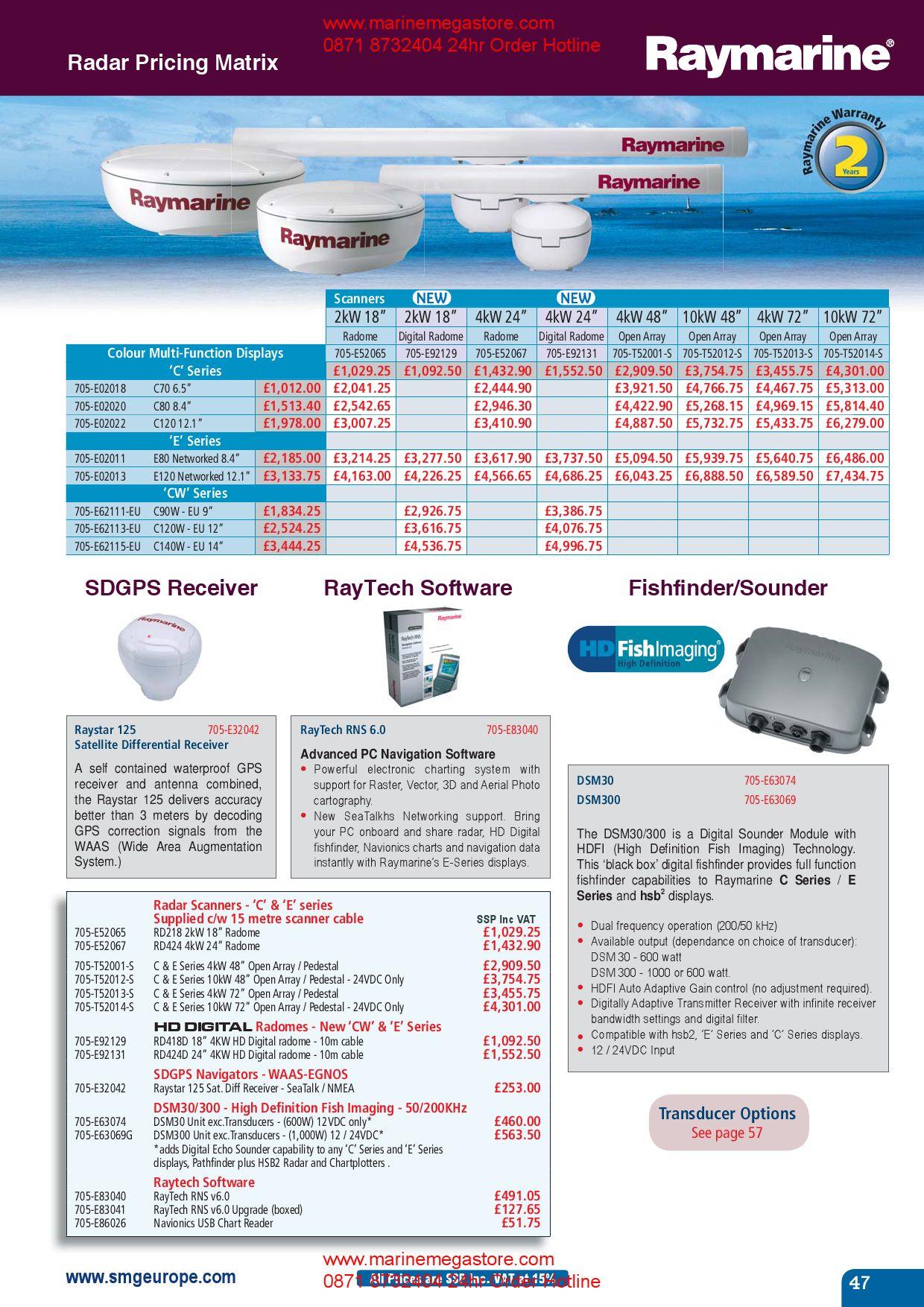 Marine Electronics Catalogue