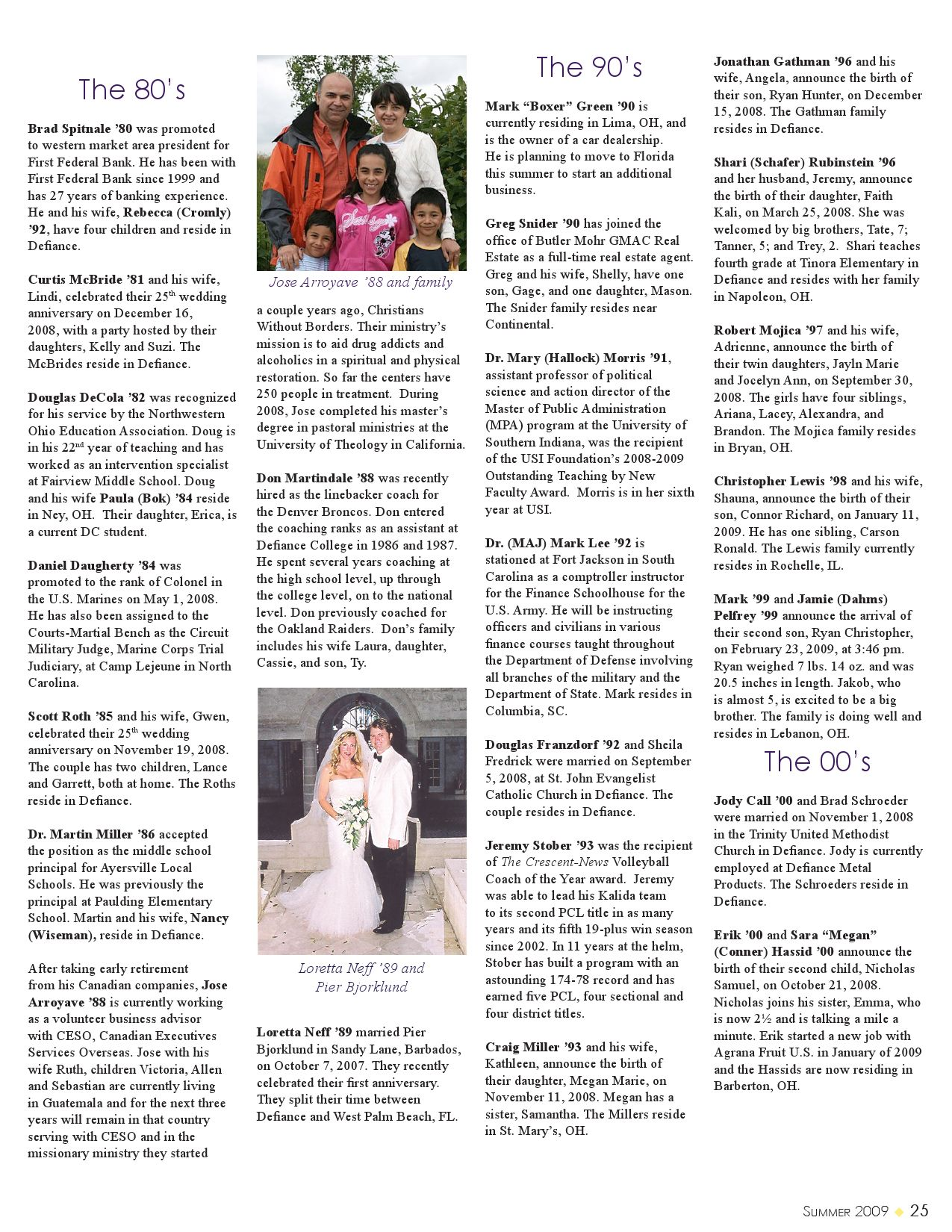 Defiance College Magazine Summer 2009 By Issuu These Are Two Of The Approximately Eighty Circuits That Christophe