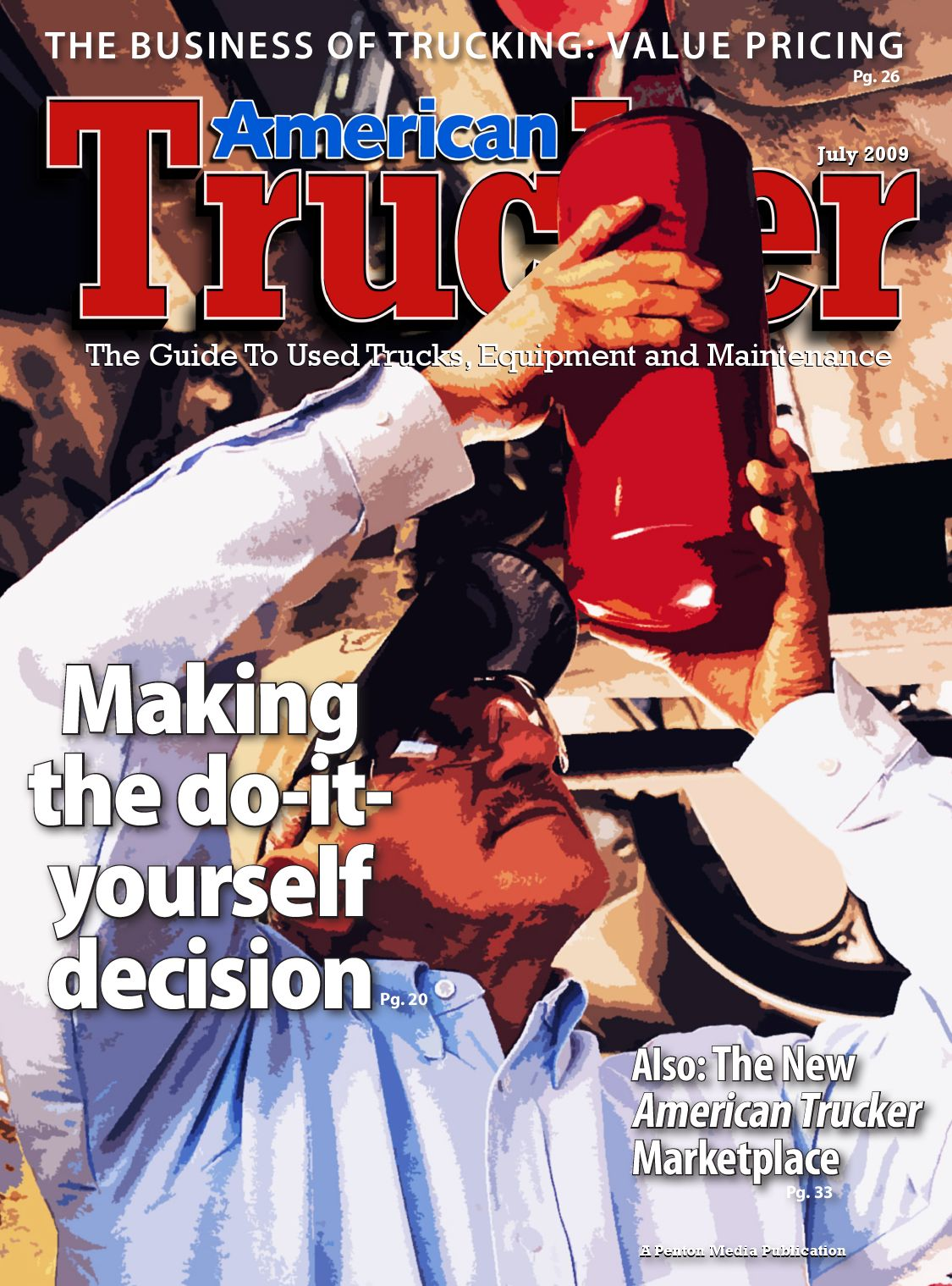 American Trucker July Central Issue
