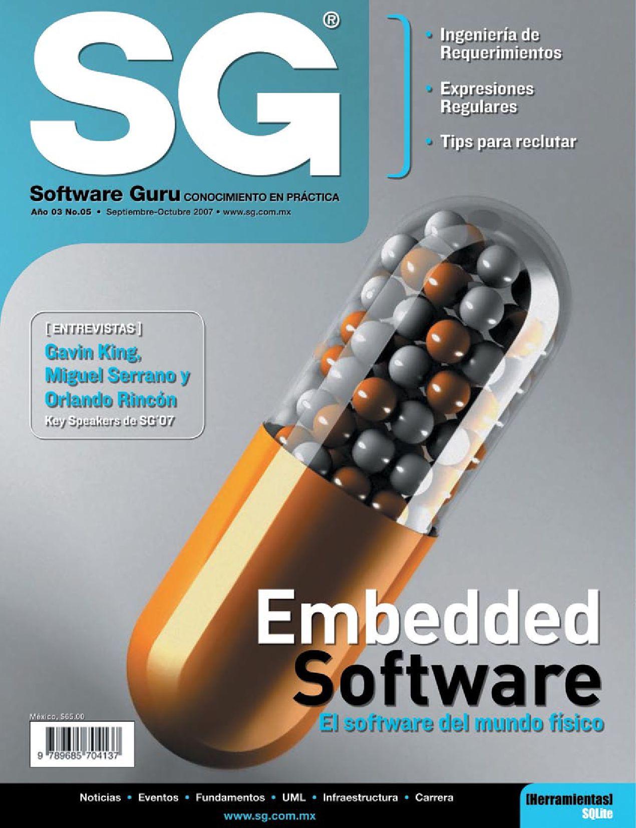 SG17 (Septiembre-Octubre 2007) by Revista Software Guru - issuu