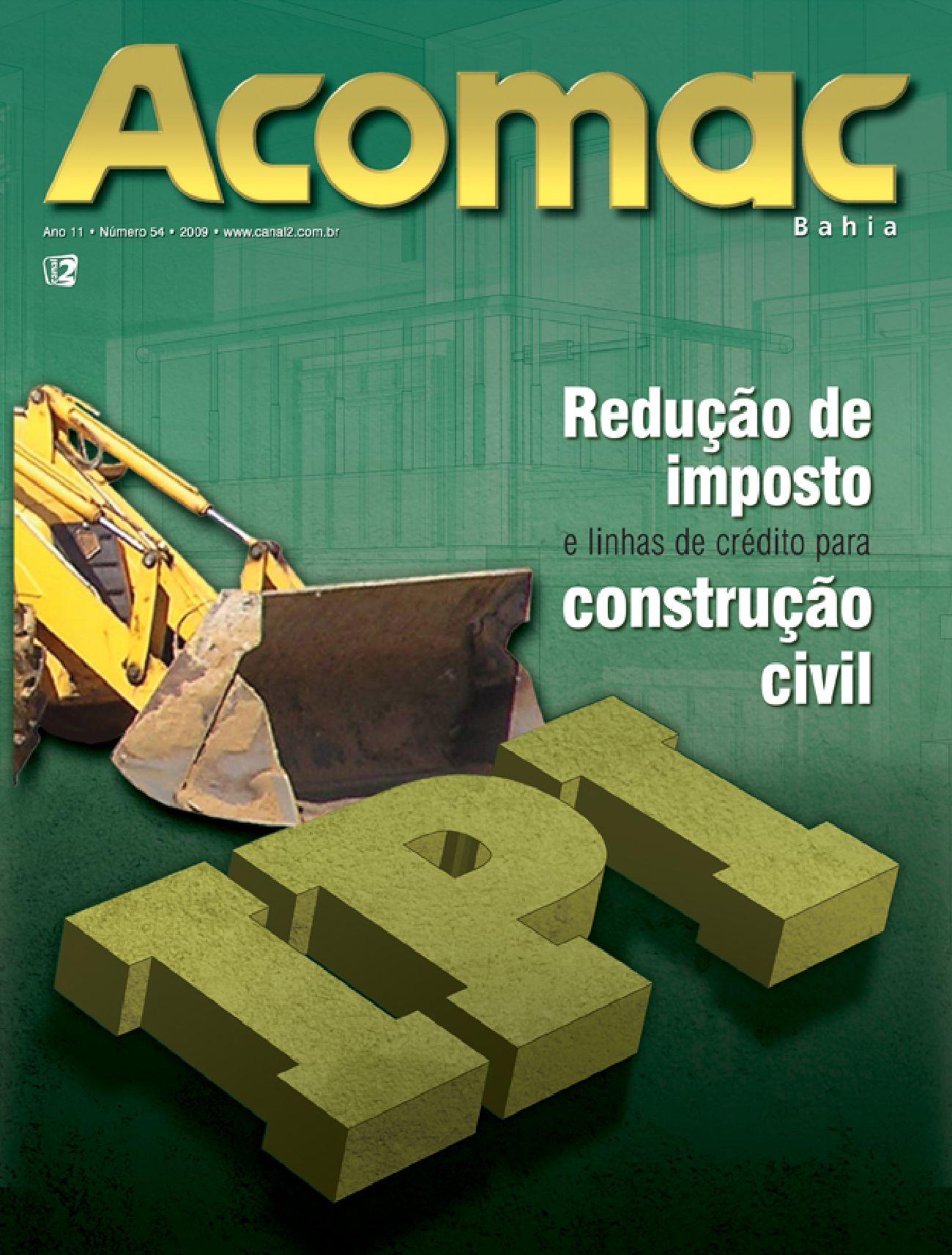 603fc811ed8e5 Acomac 54 by Canal 2 Comunicação - issuu