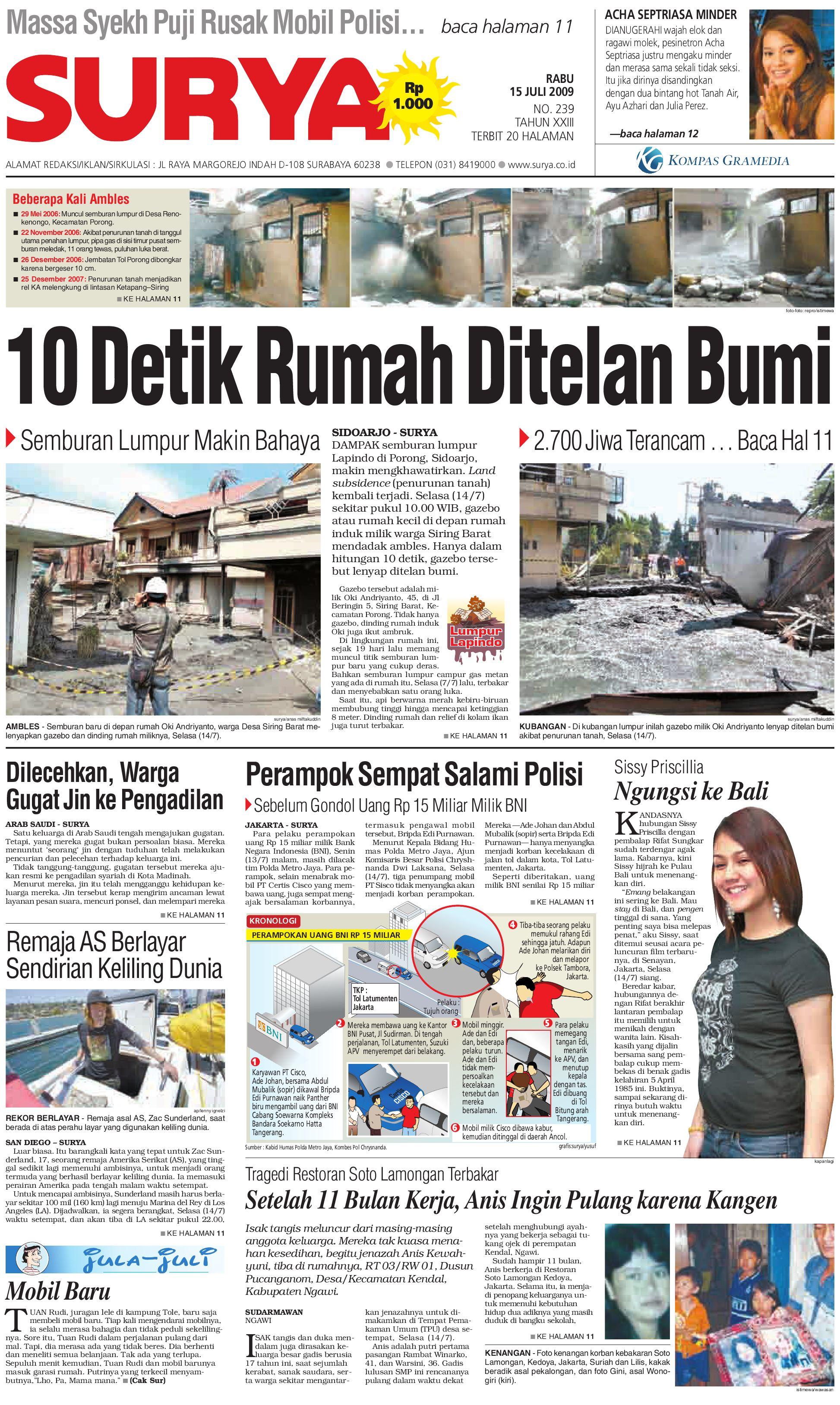 Surya Edisi Cetak 15 Juli 2009 By Harian Issuu Kopi Bubuk Hitam Kapal Api Tanpa Gula 10x6 5 Gram