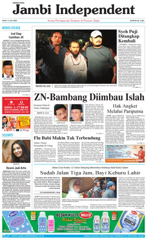 Jambi Independent edisi 15 Juli 2009 by jambi independent - issuu c2a3f0c7c2