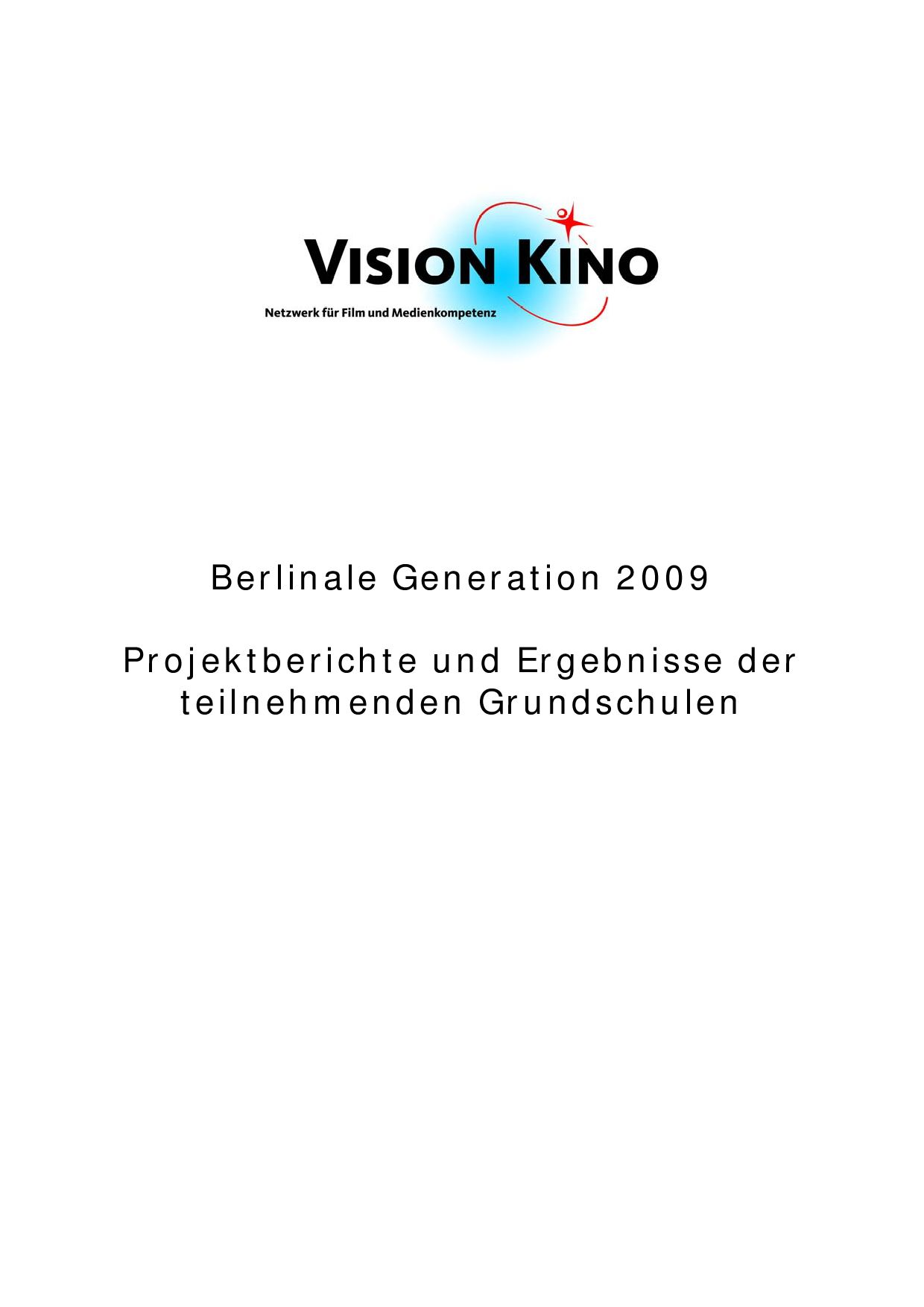 Berlinale09 Berichte OS by VISION KINO - issuu