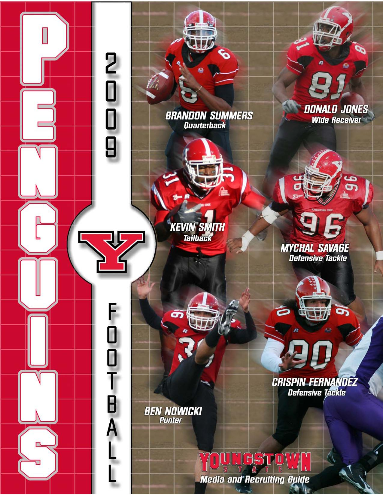 youngstown state 2009 football media and recruiting guide by