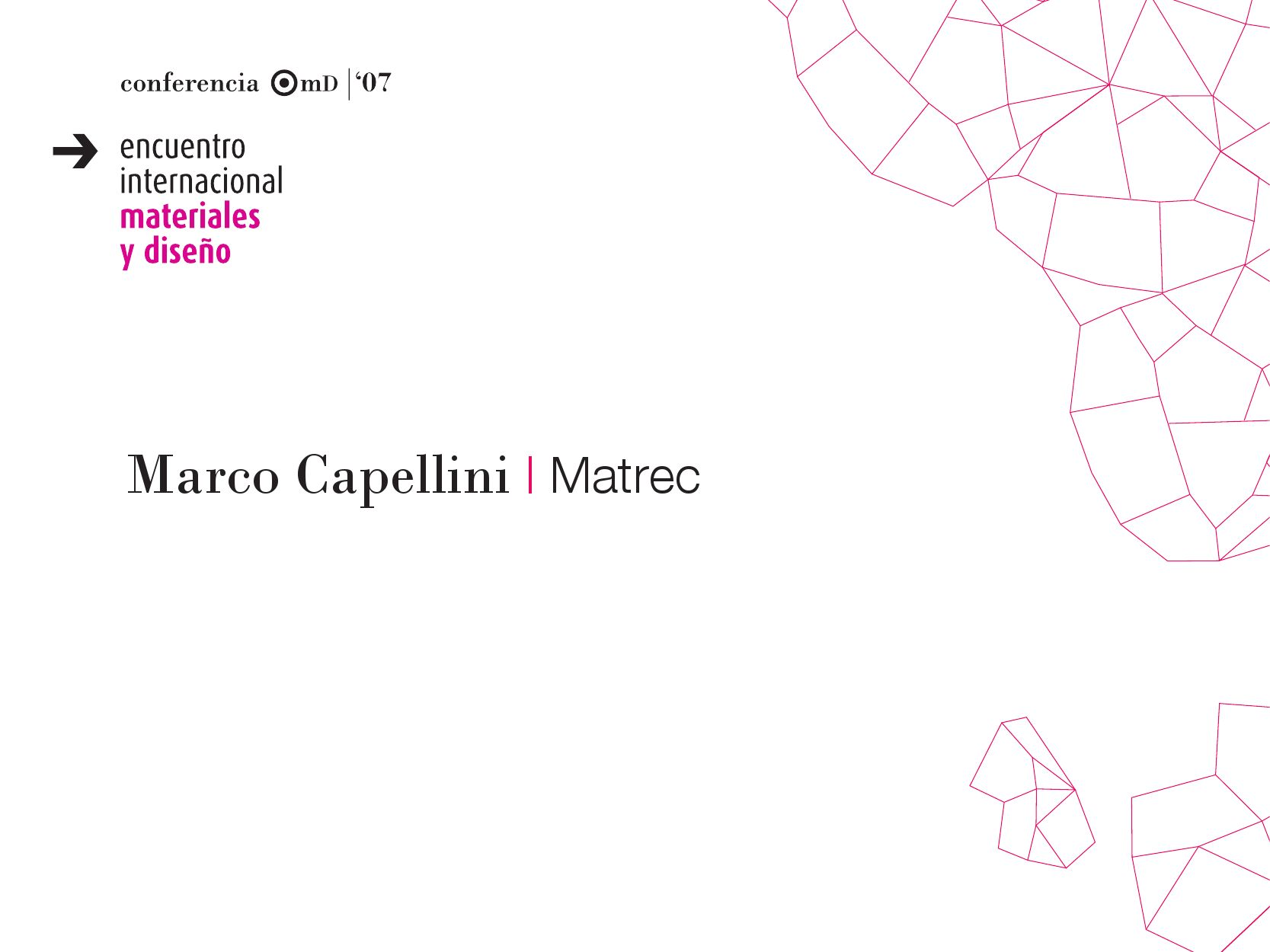 Capellini Design Consulting.Marco Capellini By Instituto Metropolitano De Diseno E