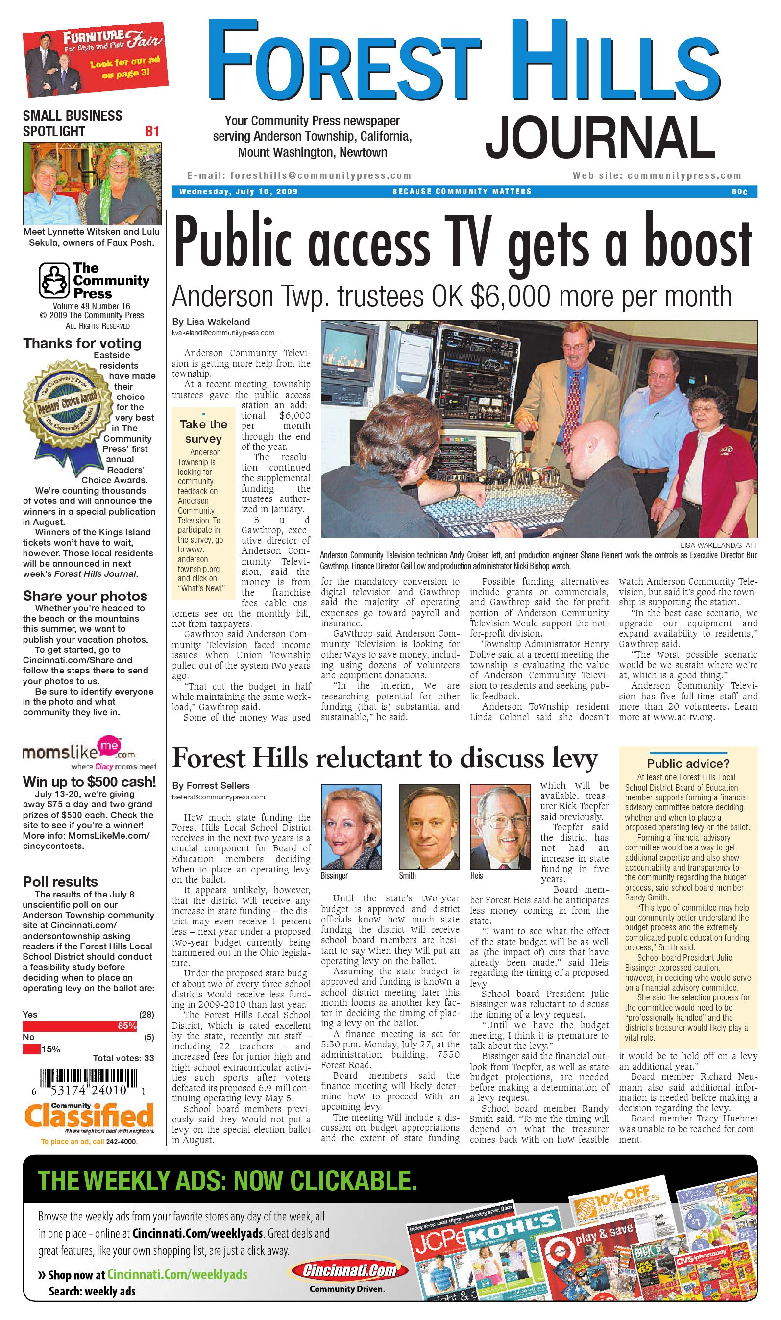 forest-hills-journal-071509a by Enquirer Media - issuu 4cd6813f2c