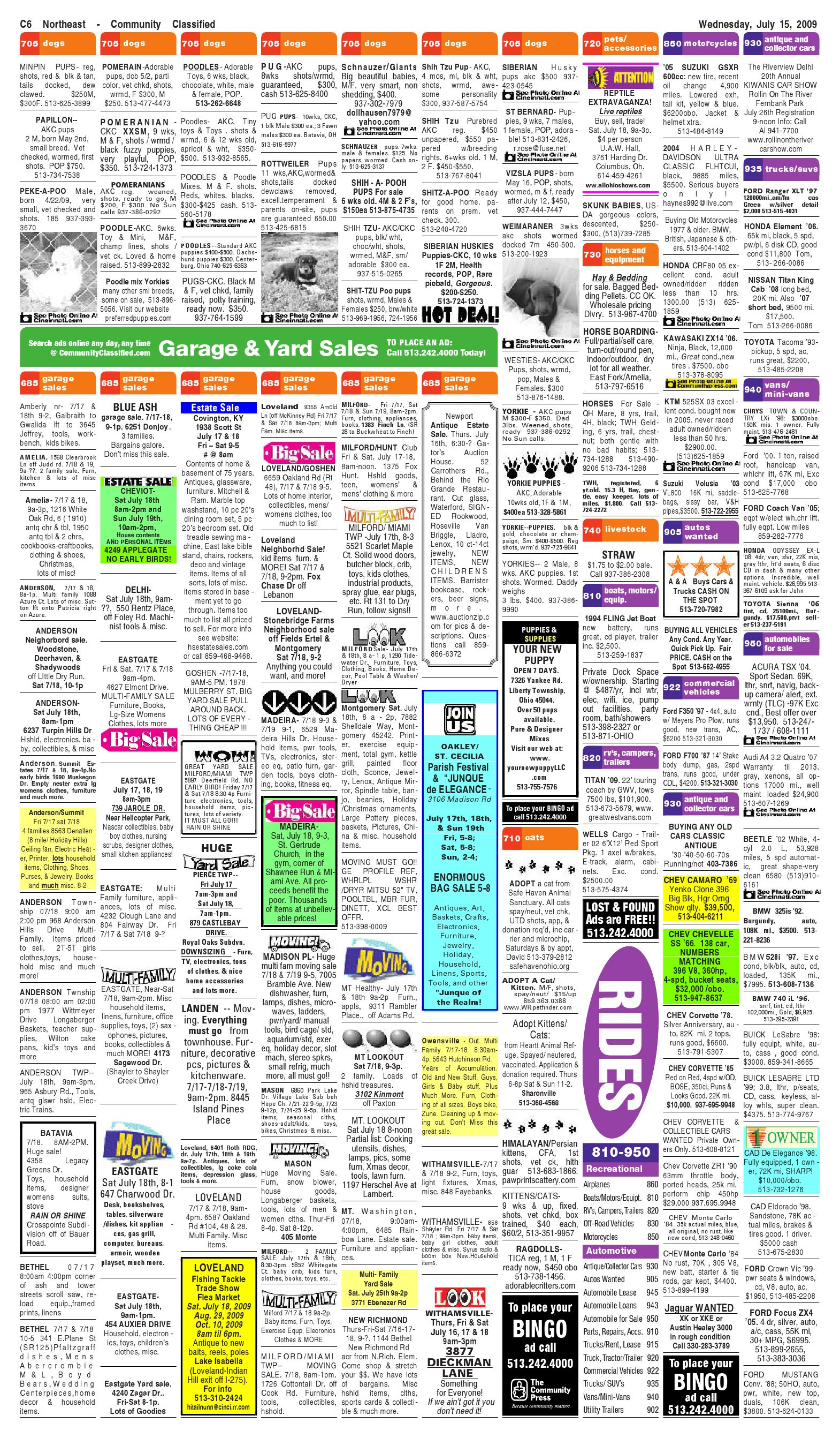 Indian Hill Journal 071509a By Enquirer Media Issuu Oakley Fuse Box Manual
