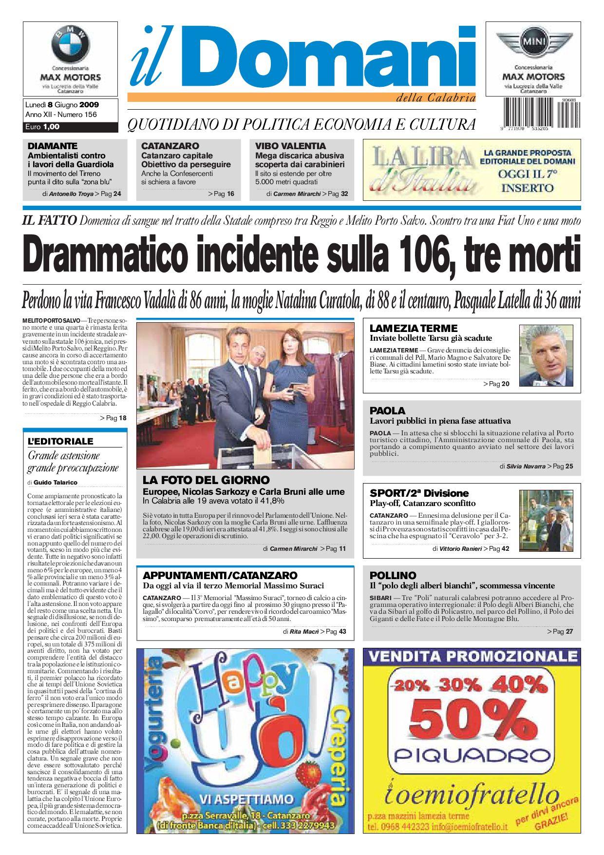 ilDomani by T P Editori il Domani - issuu 0040a3ac243a