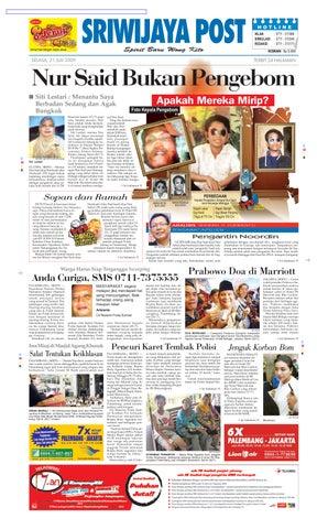 Sriwijaya Post Edisi Selasa 21 Juli 2009 by Yulius Saputra - issuu 11f5a63abd