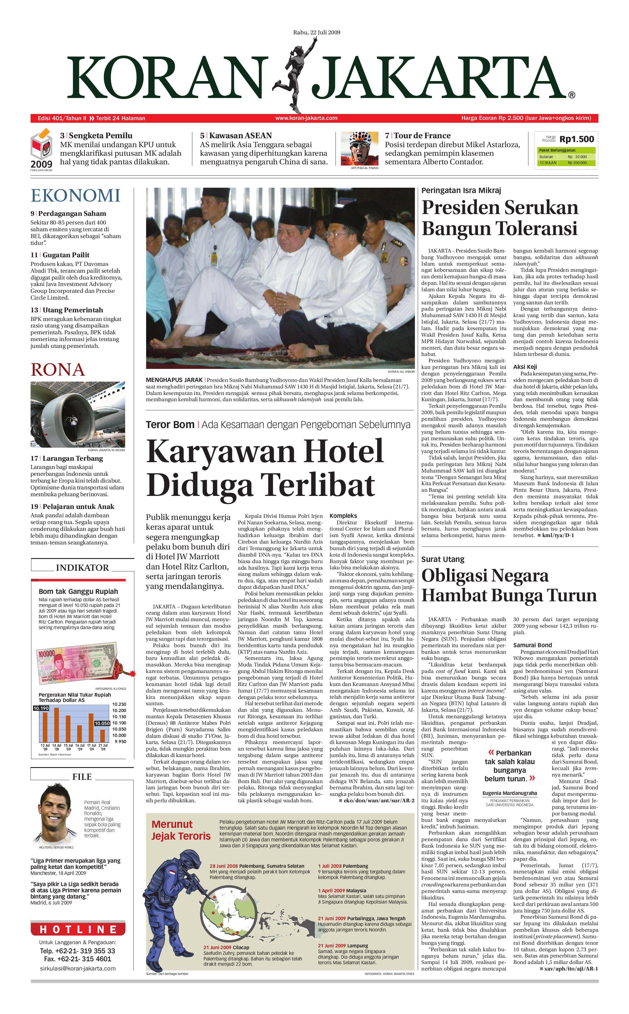 Edisi 401 22 Juli 2009 By Pt Berita Nusantara Issuu