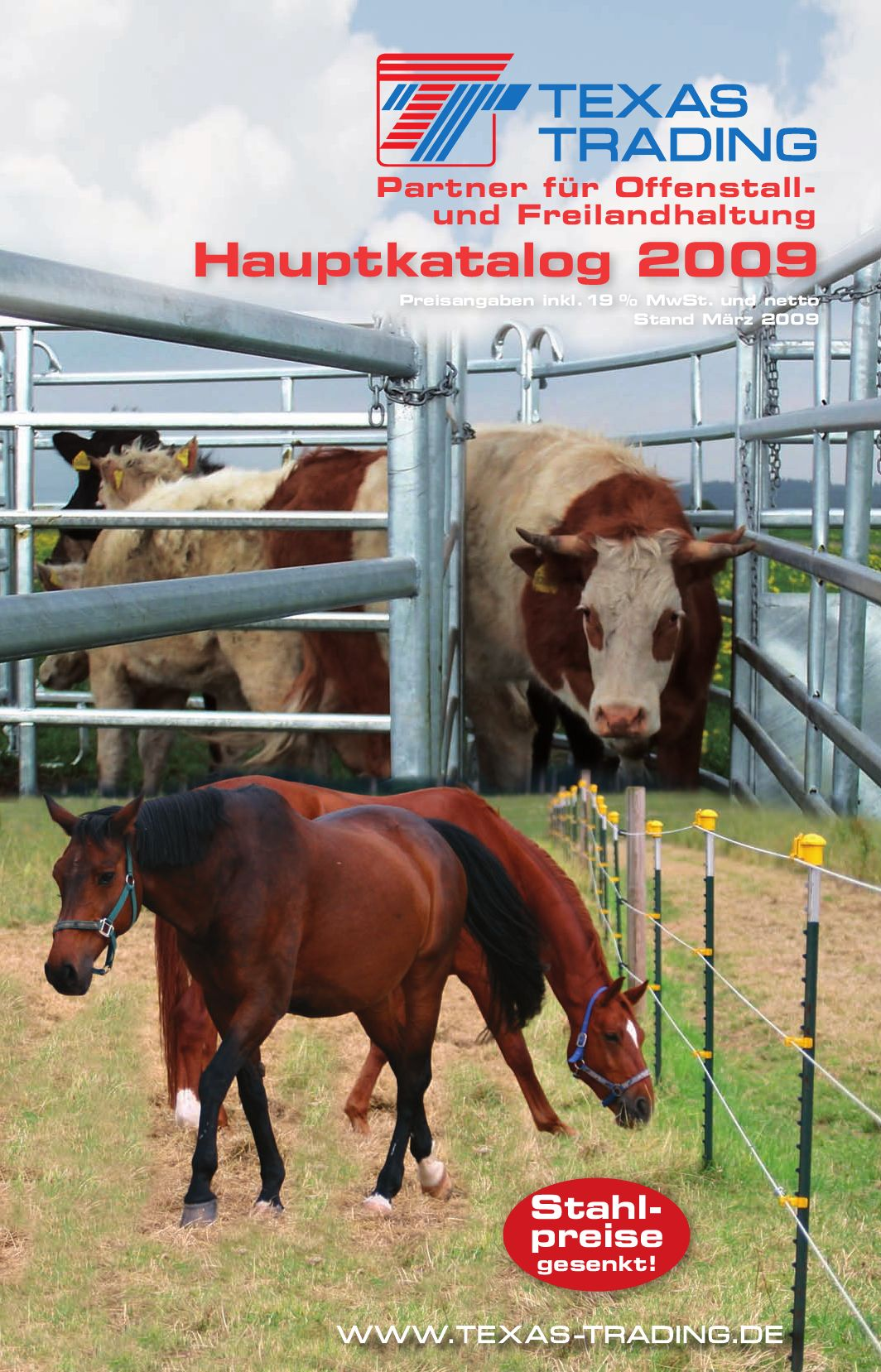 TEXAS TRADING Hauptkatalog 2009 by Dominik Ort - issuu