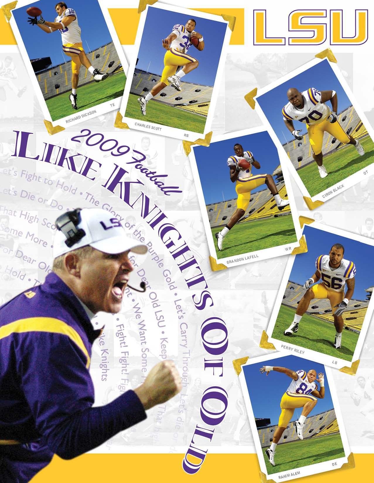 e40d1ad5f 2009 LSU Football Media Guide by LSU Athletics - issuu