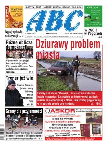 Gazeta Abc 10 Marca 2009 By Sekretarz Redakcji Issuu