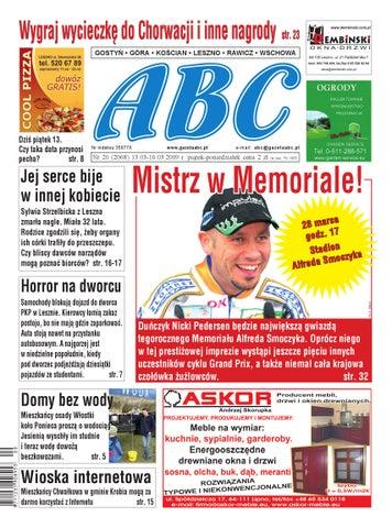 Gazeta Abc 13 Marca 2009 By Sekretarz Redakcji Issuu