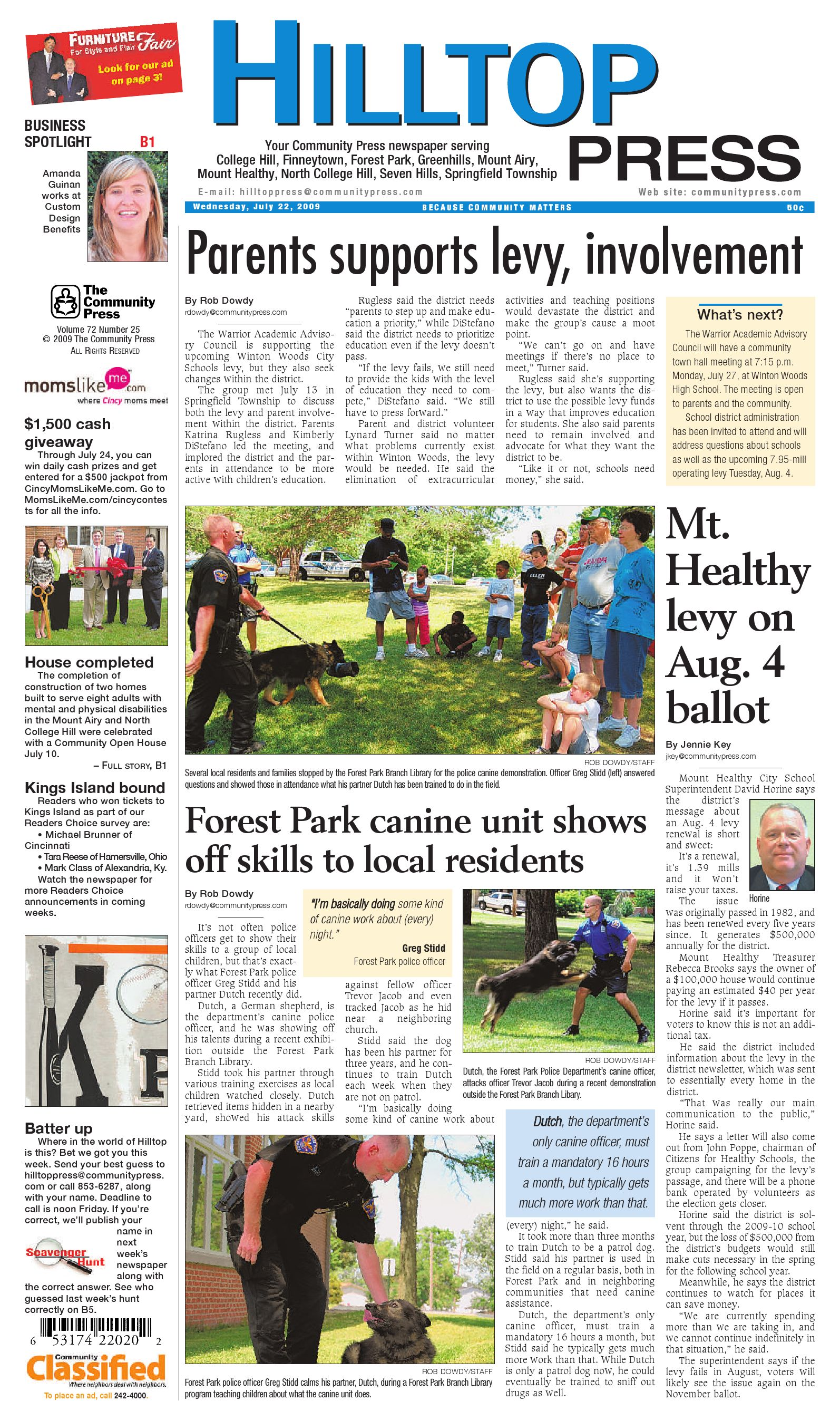 hilltop press 072209 by Enquirer Media - issuu 43cea8b85