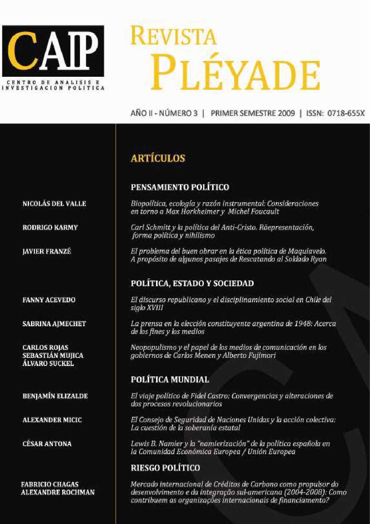 REVISTA PLÉYADE Nº 3 by Revista Pléyade - issuu