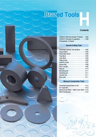 2008 Korloy Metric Catalogue - Technical Information by RBJ Tooling